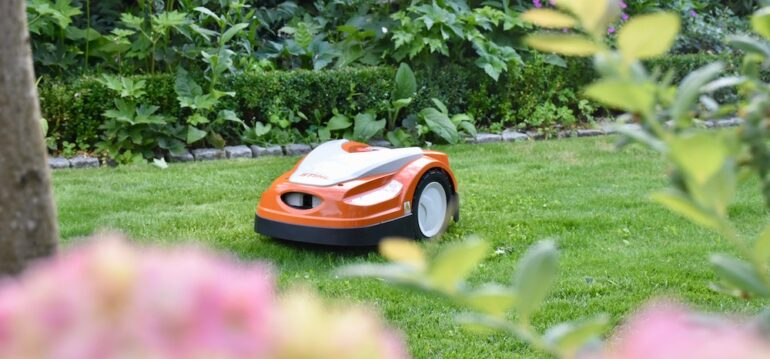 Rasen - iMow - Stihl - Juni - Sommer - Rasenpflege - Franks kleiner Garten
