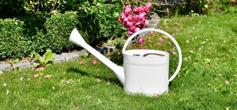Wasser - Sparen - Garten - Gießkanne - 5 Liter - Waterfall - Stone - Burgon & Ball - Franks kleiner Garten