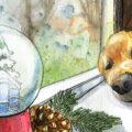 Kolumne - Bruno - Winter - Januar - Illustration